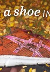 shoe in gutter