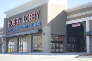 The Merriam Hobby Lobby has posted notice of a March 9 opening.