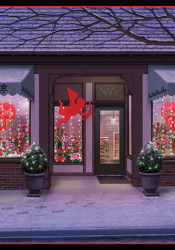 The Little Flower Shop in Westwood Hills delights in holidays.