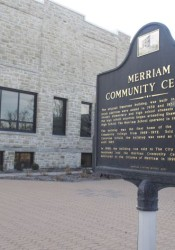 The original community center building dates to 1911 and was the first school in Merriam.