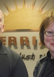 Scott Diebold and Cheryl Moore were chosen for the Merriam City Council Monday night.