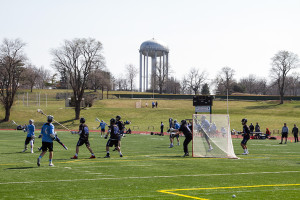 The Lancer lacrosse team beat  St. Charles North from Chicago 14-9 on the SM East fields Saturday.