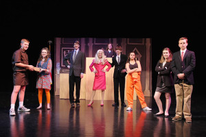 The Indian Hills production of Legally Blonde opens Thursday and runs through Saturday.