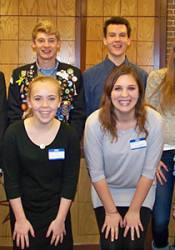Prairie Village holds a reception for the exchange students each year.
