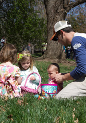Westwood's annual Easter Egg hunt.