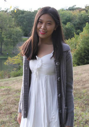 SM East senior Clara Ma has earned the most prestigious academic honor in the country. Photo courtesy of the Ma family.