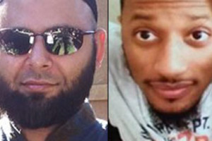 Nadir Soofi, left, and Elton Simpson, were killed by law enforcement officers after opening fire at the Garland, Tex. event.