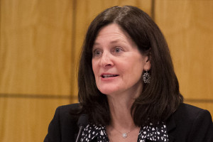 Prairie Village Mayor Laura Wassmer spoke out against the Senate proposal.