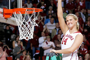 Lauren Lawrence was part of two Final Four teams at the University of Oklahoma. Photo via SoonerSports.com.