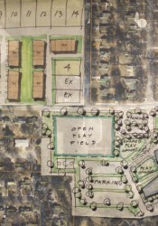 One of the ULI concepts shows new housing on the Entercom property in Westwood and a new school on Rainbow.