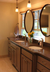 A remodeled bathroom by ReTouch.