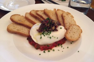 Creamy balls of burrata are a delicious centerpiece to light summer meals.