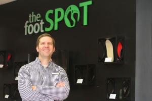 Ryan Richard of the Foot Spot.