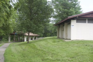 The bathrooms and shelter at Nall Park are in need of repair.