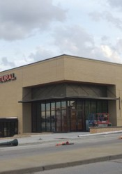 The new Natural Grocers store was still getting finishing touches today.