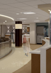 The renovation of the Shawnee Mission Health campus in Merriam continues with the start of a project on the first floor of the main hospital building.