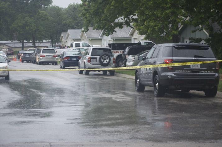 The duplexes at 61st Street and Robinson have seen three murders in less than a week.