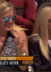 SM East tennis standout Olivia Sneed was on FOX's Beat the Champions Tuesday cheering on her sister.