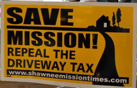 "The ""driveway tax"" factored heavily into Mission politics after its passage in 2011."
