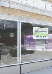 Two brothers will open the appropriately named Brothers Music store on Johnson Drive this fall.