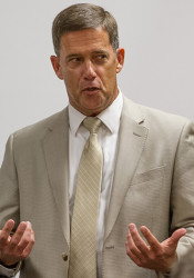 Superintendent Jim Hinson. File photo.