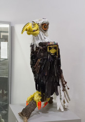 The Eagle by Holly Hughes, winner of the 2015 Arts Council Award