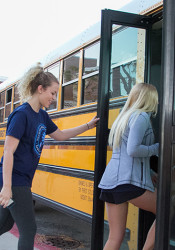 The district's bus service provider is requesting approximately $1 million in additional funds to provide service for the next school year.