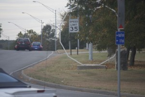 The city says the 35 mph limit applies all along Roe Avenue to the Roeland Park  city limit.