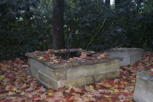 A fire pit is OK in NEJC as long as you are burning firewood and branches.