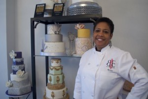 Renea Feagin of Baked Expressions on Johnson Drive.