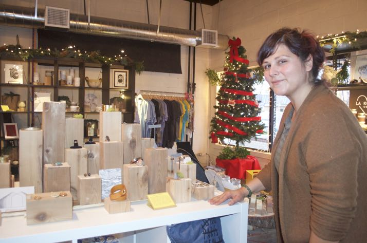 New retail space in bonfire on johnson drive offers sales spot for local makers celebrating - Small retail space collection ...