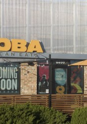 Qdoba is in the old Schlotzsky's building on Johnson Drive.