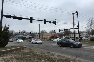 The accident occurred at the intersection of 75th Street and Metcalf Avenue.
