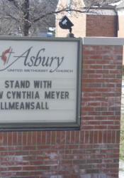 Asbury sign all means all