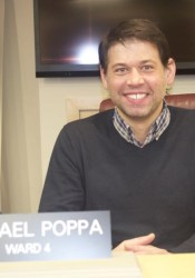 Michael Poppa now sits on the Roeland Park City Council, but in 2014 he was an advocate for passage of the anti-discrimination ordinance.