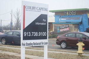 Colby Capital now owns the lot at 47th and Mission Road across from Taco Republic.