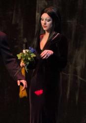 Aleesha Gonzalez as Morticia.