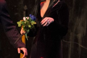 Aleesha Gonzalez as Morticia.
