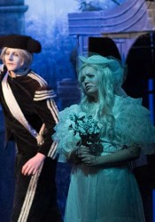 The Addams Family's lighting and scenery earned it two Blue Star nominations.