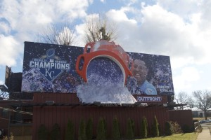 Royals billboard