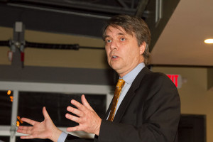 "Lt. Gov. Jeff Colyer told the group of Northeast Johnson County Conservatives that the Republican party had ""a lot to crow about."""