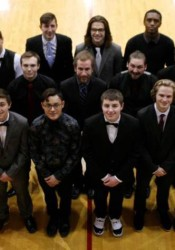 The 2015-16 Northman candidates at SM North include; (front row L-R) Tristen Morgan, Anthony Giambalvo, Christian Damian, Parker Williamson, Nick Wilson, and Adam Dujakovich; (middle row) Noah Hastings, Noah Bryan, Derek Davidson, Dolan McNabb, Gressi Lopez, and Quinton Jones; (back row) Buddy Sayles, Angel Whisler, Christian Ross, Keighan Miller, Frederick Morris, and Corey Goodburn.