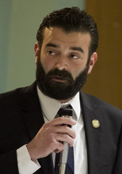 Rep. Jarrod Ousley is seeking a second term in office.