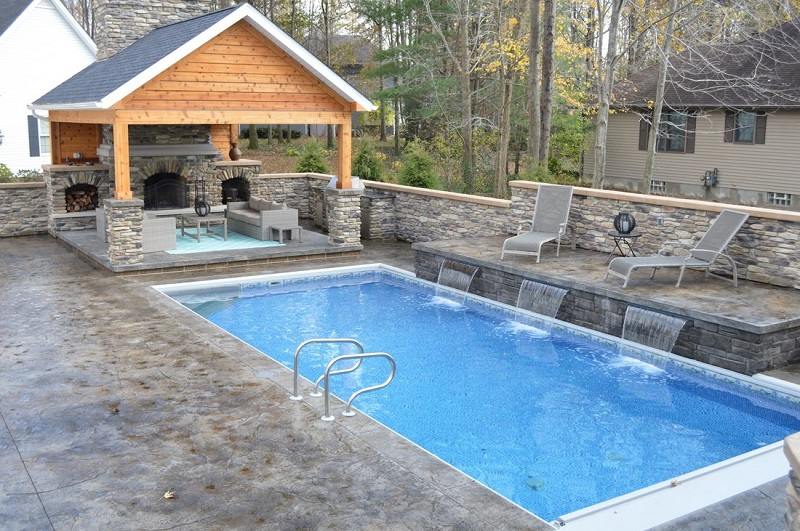 Outdoor living spaces the hottest trend in home for Pool builders kansas city