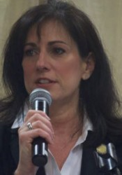 Rep. Melissa Rooker addressed a legislative update forum Saturday.