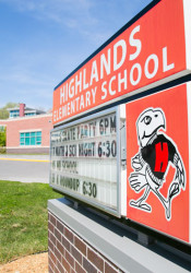 """The number of """"No School"""" days on local elementary signs has caused stress for some parents."""