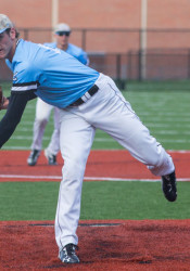 Wentz struck out 104 batters in his senior year for the Lancers, helping lead them to a state title.