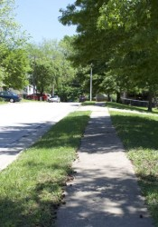 Some Merriam streets already have sidewalks, but all of the others will be evaluated to see if they can be added.