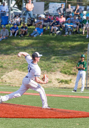 SM East's Joey Wentz has already earned a step up the minor league baseball ladder.