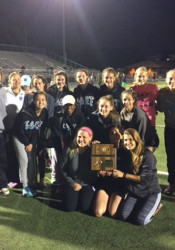SM East's girls track and field team won this past weekend's Regionals meet. Photo courtesy David Pennington.